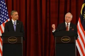 Obama and Malaysian PM Najib Razak_2
