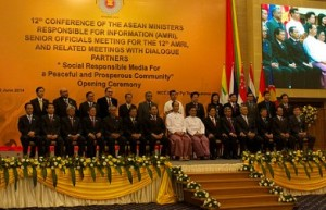 The Twelfth Conference of ASEAN Ministers Responsible for Information